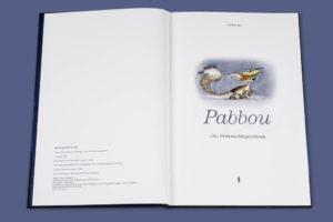 Pabbou - Das Weihnachtsgeschenk – Titelseite